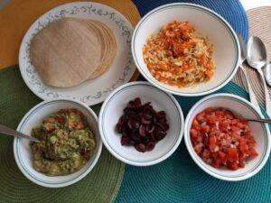 Tortilla Night Assemble